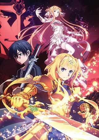 Sword Art Online: Alicization - War of Underworld Anime Cover