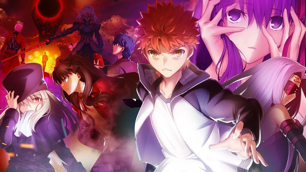 Fate/stay night Movie: Heaven's Feel - I. Presage Flower Anime banner