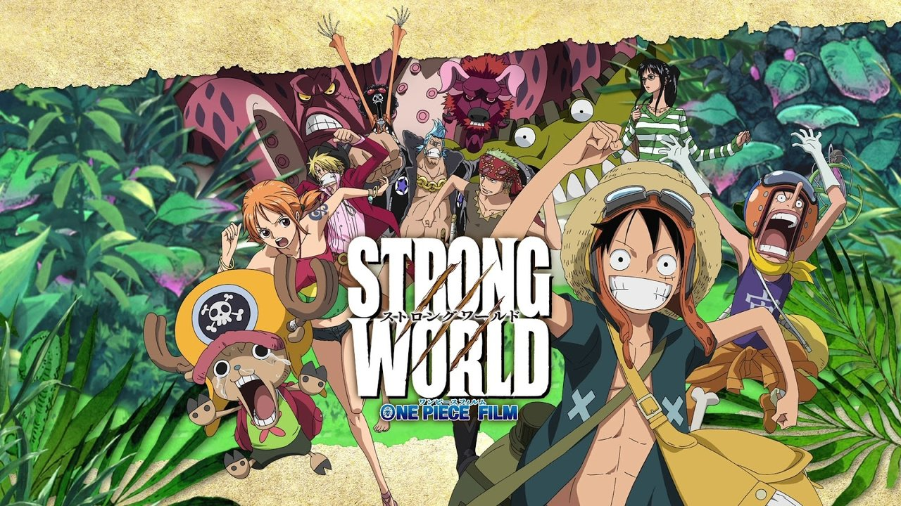 One Piece Film: Strong World Anime banner