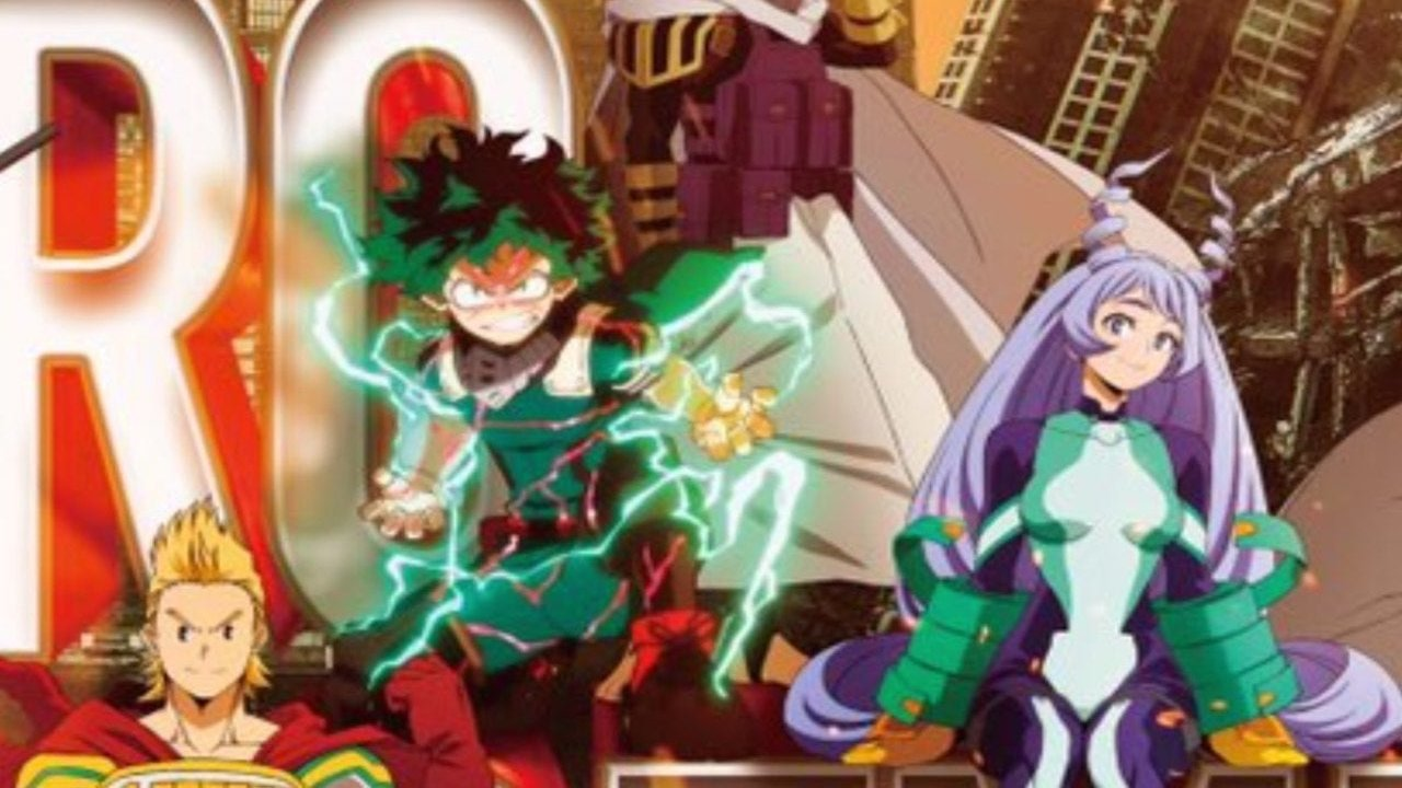 Boku no Hero Academia 4th Season Anime banner