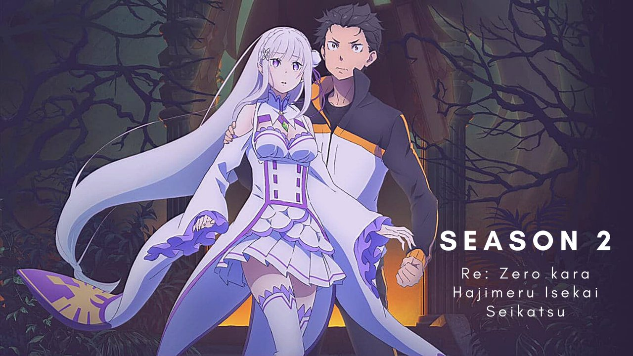 Re:Zero kara Hajimeru Isekai Seikatsu 2nd Season Anime banner